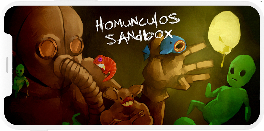 Preview juego Homunculus Sandbox Android & IOS